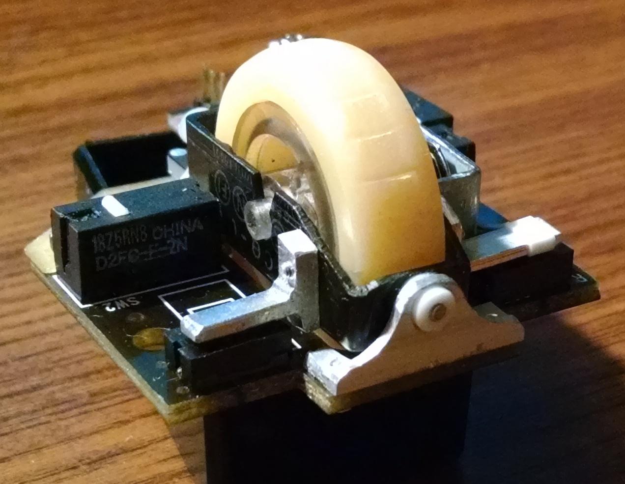 Модернизация мыши — добавление наклонов колеса, замена электроники - 30