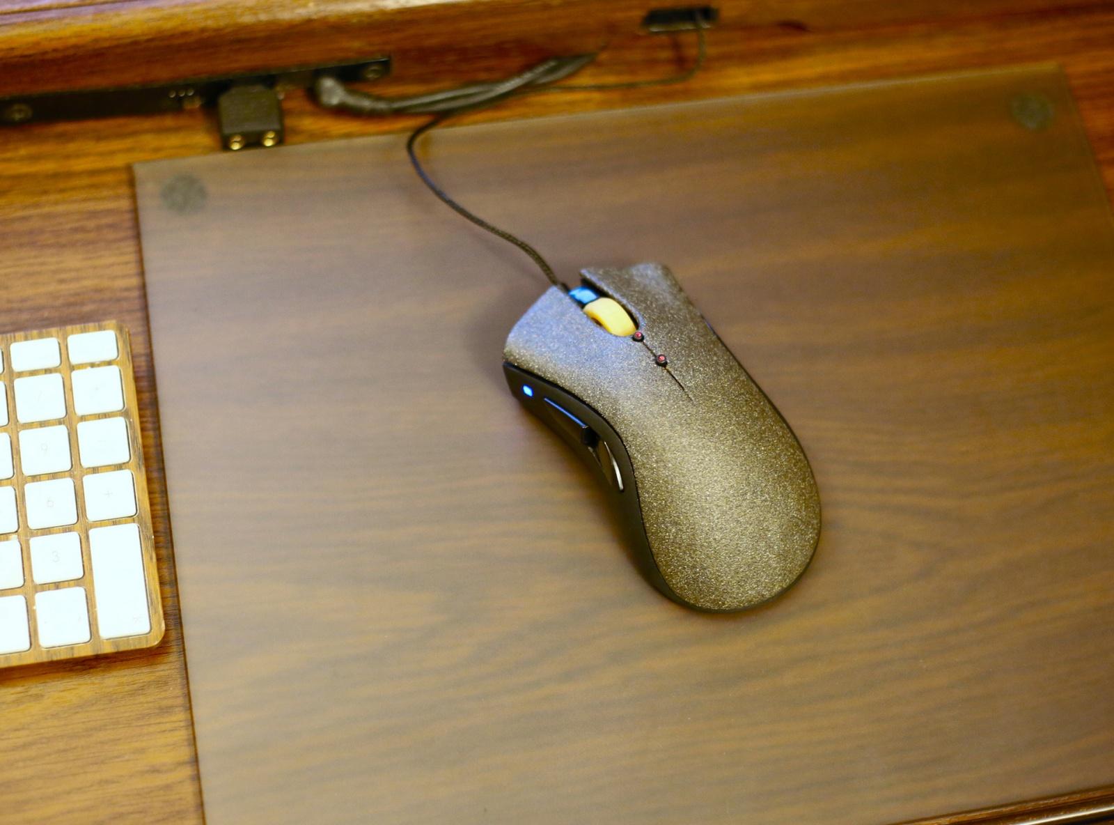 Модернизация мыши — добавление наклонов колеса, замена электроники - 31