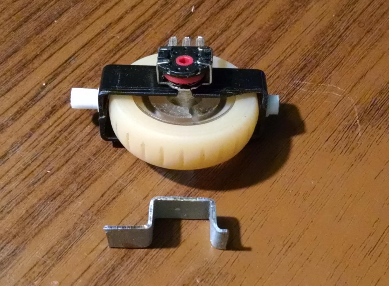 Модернизация мыши — добавление наклонов колеса, замена электроники - 5