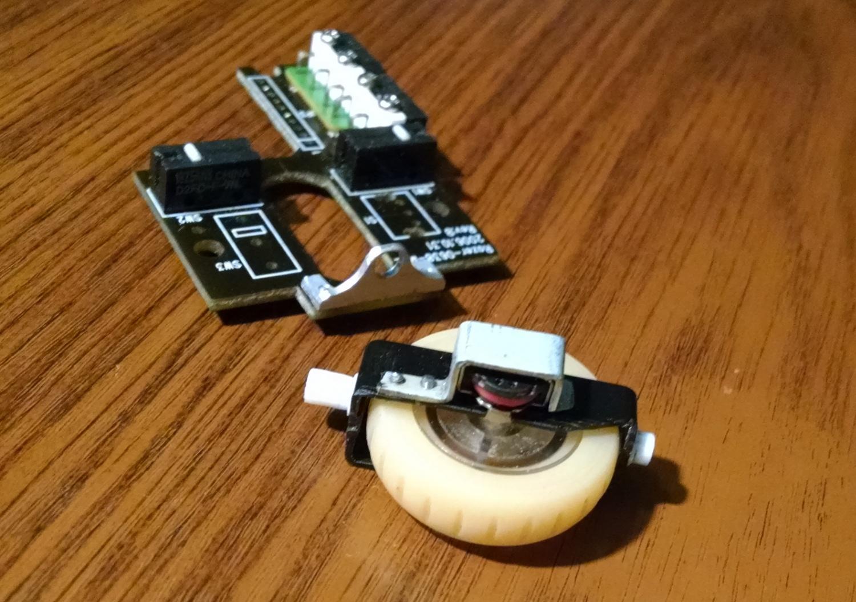 Модернизация мыши — добавление наклонов колеса, замена электроники - 6