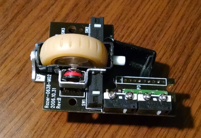 Модернизация мыши — добавление наклонов колеса, замена электроники - 7