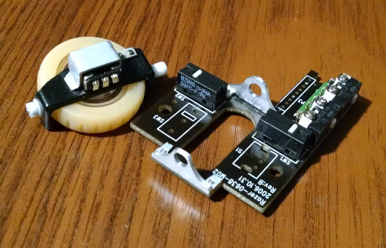 Модернизация мыши — добавление наклонов колеса, замена электроники - 8