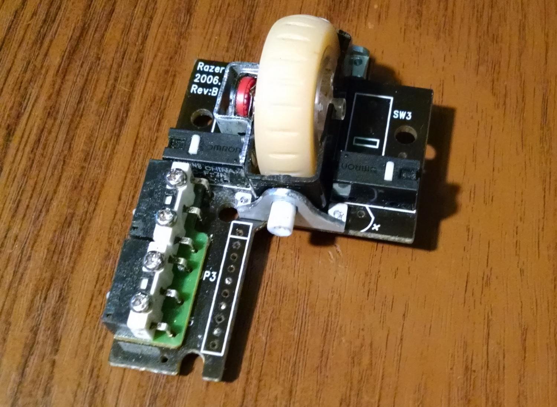 Модернизация мыши — добавление наклонов колеса, замена электроники - 9