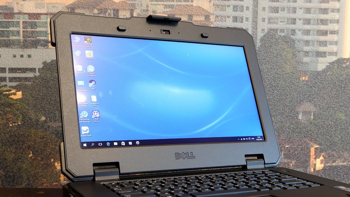 Ноутбук Dell Latitude 14 Rugged Extreme: очень крепкий парень - 19