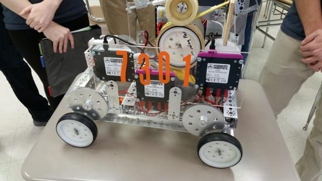 Школьные соревнования по робототехнике в штате Иллинойс, США - 4
