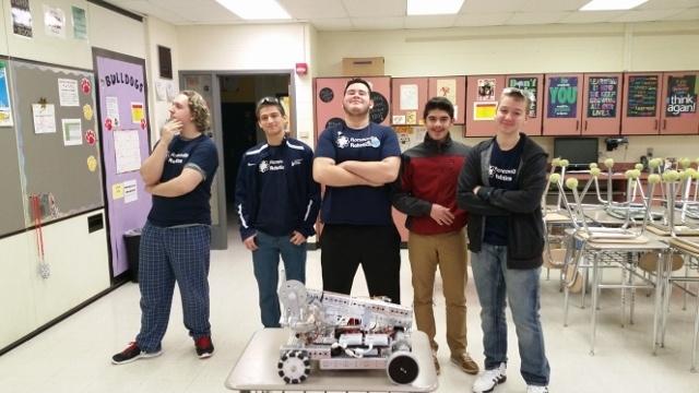 Школьные соревнования по робототехнике в штате Иллинойс, США - 5
