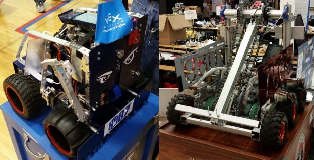 Школьные соревнования по робототехнике в штате Иллинойс, США - 1