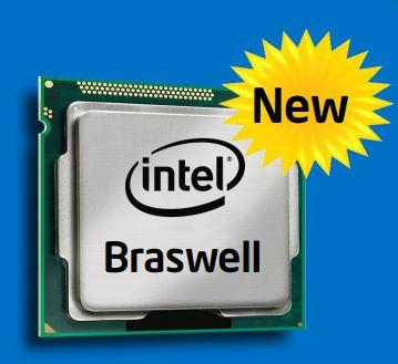 Линейка SoC Intel Braswell пополнилась семью новинками