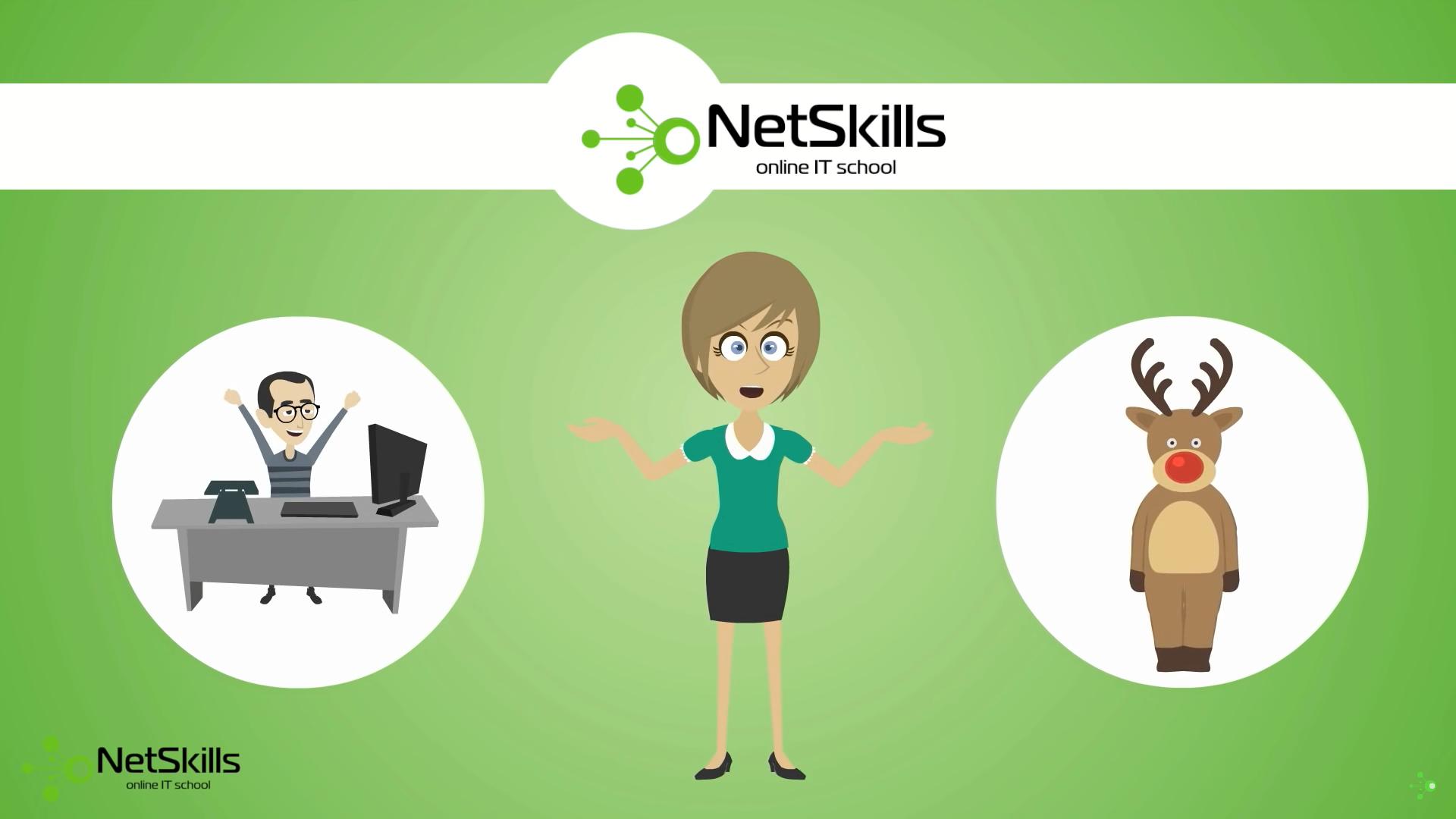 """Онлайн """"школа"""" сетевых технологий NetSkills - 1"""