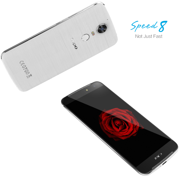 Опубликованы изображения смартфона Zopo Speed 8