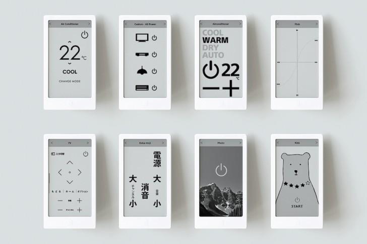 Пульт ДУ Sony Huis, основанный на технологии E Ink, поступит в продажу по цене около $250 в марте