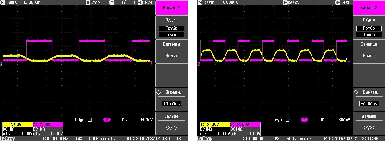 Управление бесколлекторным двигателем по сигналам обратной ЭДС – понимание процесса - 28