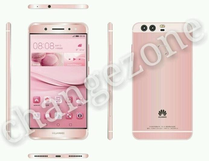 Появились первые изображения смартфона Huawei P9