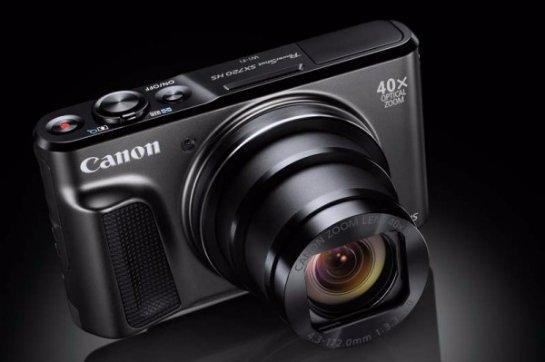 Canon PowerShot SX720 HS- компактная камера с суперзумом