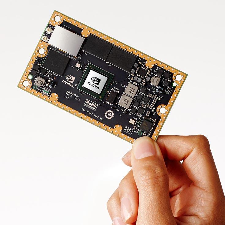 Модуль Nvidia Jetson TX1 обеспечивает глубокое обучение нейронных сетей при очень низком энергопотреблении