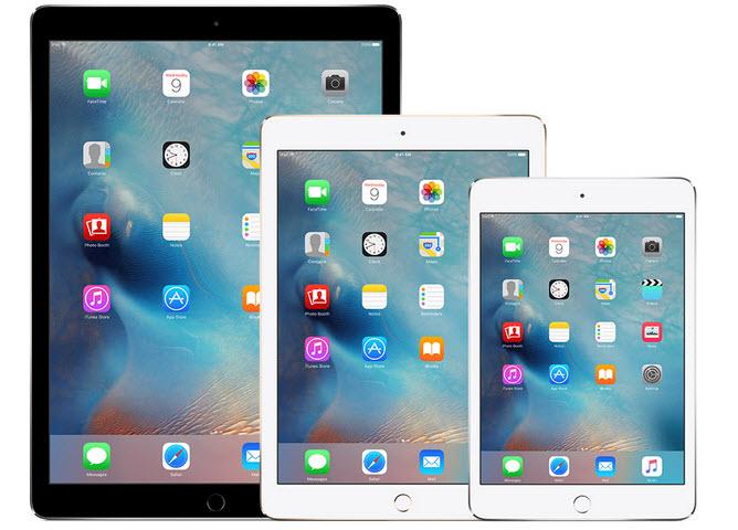 Ожидается, что Apple установит антирекорд по поставкам iPad в первом квартале 2016, но останется на первом месте