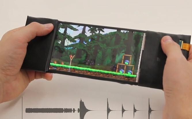 Представлен рабочий прототип изгибающегося смартфона ReFlex