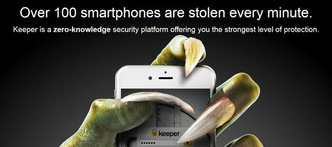 HTC выбрала для своих смартфонов ПО Keeper Security Password Manager