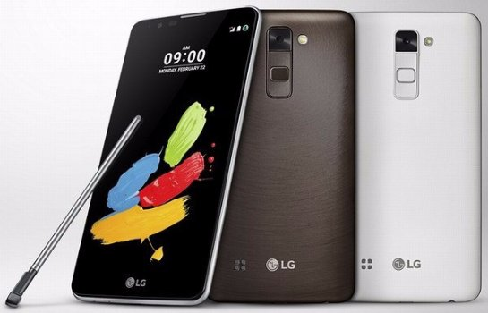 Состоялся анонс смартфона LG Stylus 2