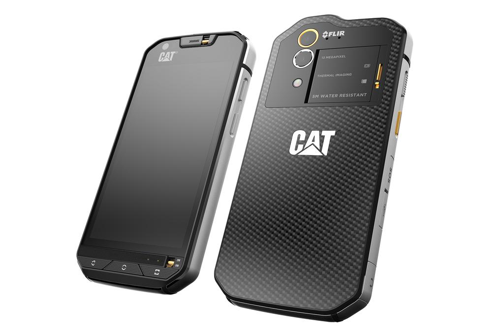Caterpillar представила смартфон с тепловизором - 2
