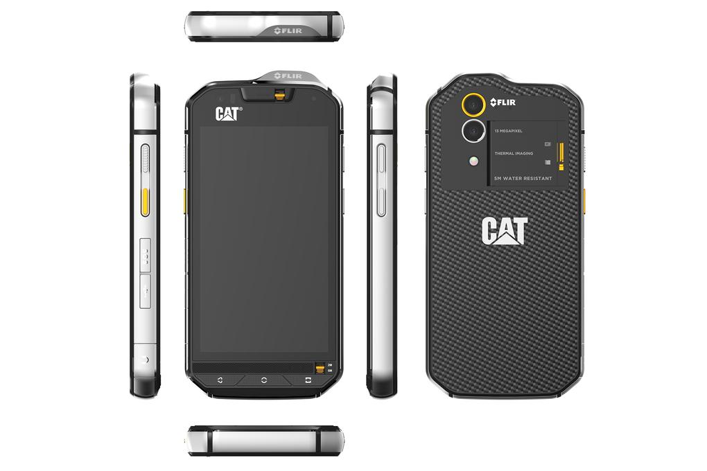 Caterpillar представила смартфон с тепловизором - 3