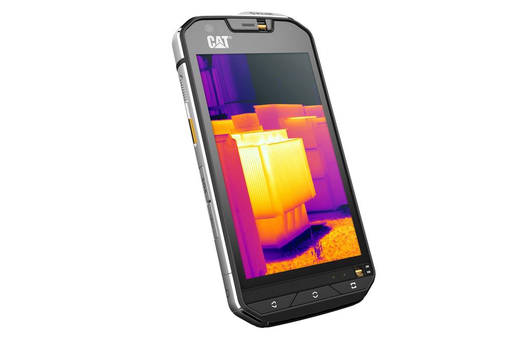 Caterpillar представила смартфон с тепловизором - 1