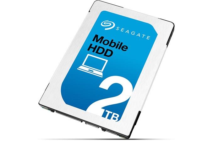Seagate показала самый тонкий HDD объёмом 2 ТБ формата 2,5 дюйма