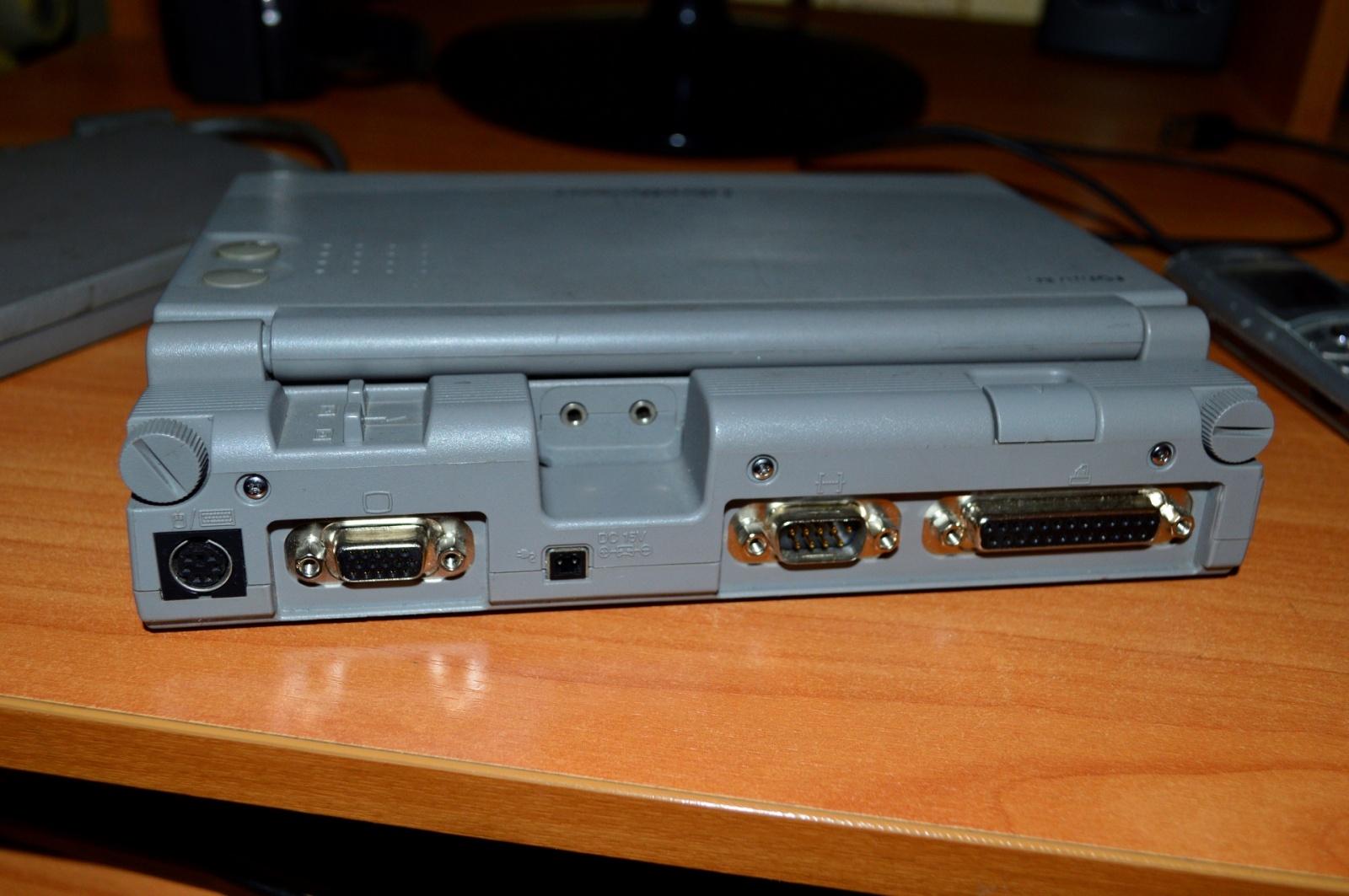 Какими были ноутбуки 20 лет назад на примере Toshiba libretto 100ct - 10