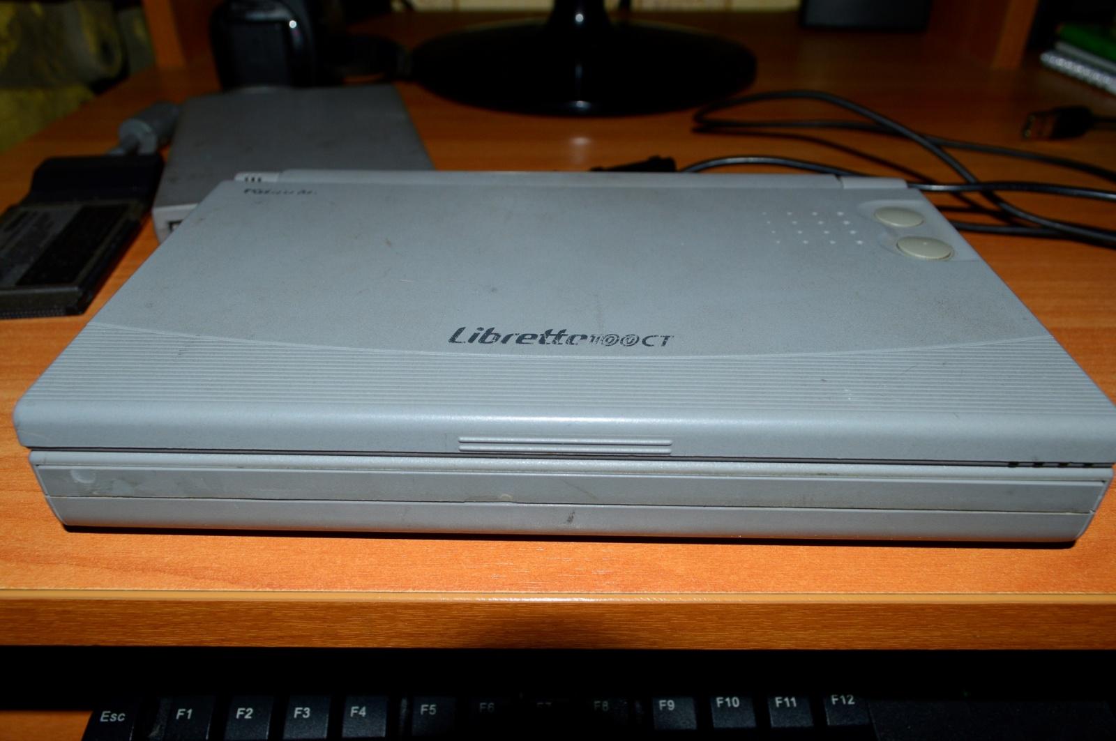 Какими были ноутбуки 20 лет назад на примере Toshiba libretto 100ct - 3