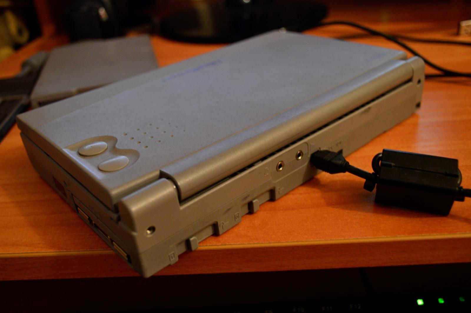 Какими были ноутбуки 20 лет назад на примере Toshiba libretto 100ct - 8