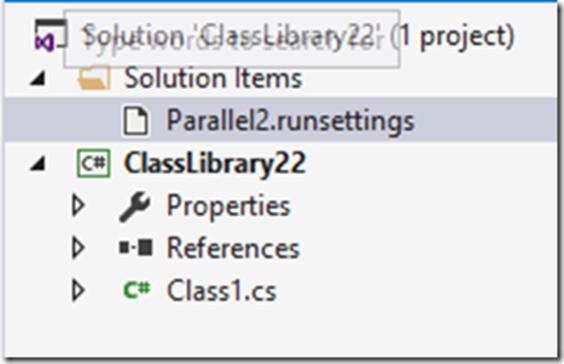 Параллельное выполнение тестов с учетом контекста с использованием Visual Studio 2015 Update 1 - 2
