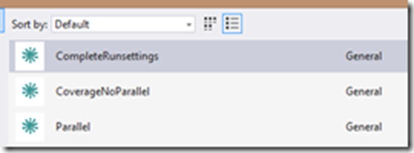 Параллельное выполнение тестов с учетом контекста с использованием Visual Studio 2015 Update 1 - 6