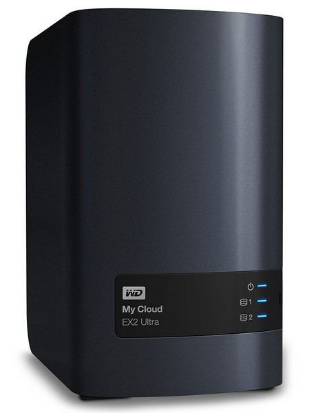 WD представила NAS My Cloud EX2 Ultra