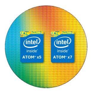 Intel представила CPU Atom x5-Z8550 и Atom x7-Z8750