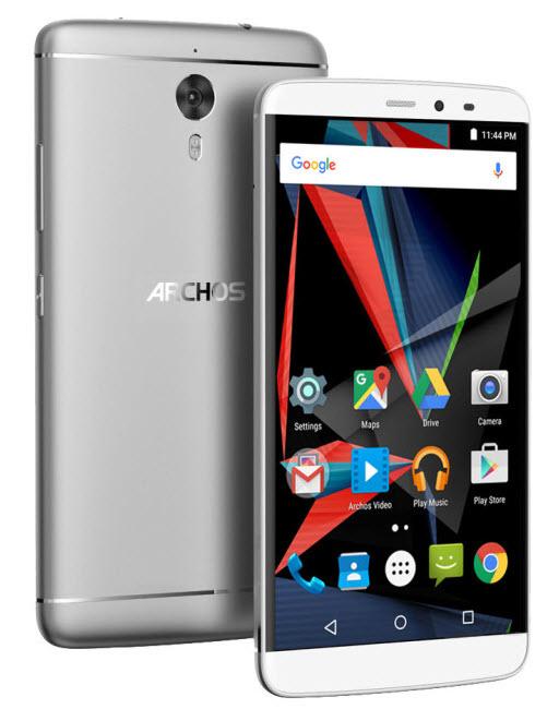 Смартфон Archos Diamond 2 Note получил SoC Helio X10 и шестидюймовый дисплей при цене 33 999 рублей