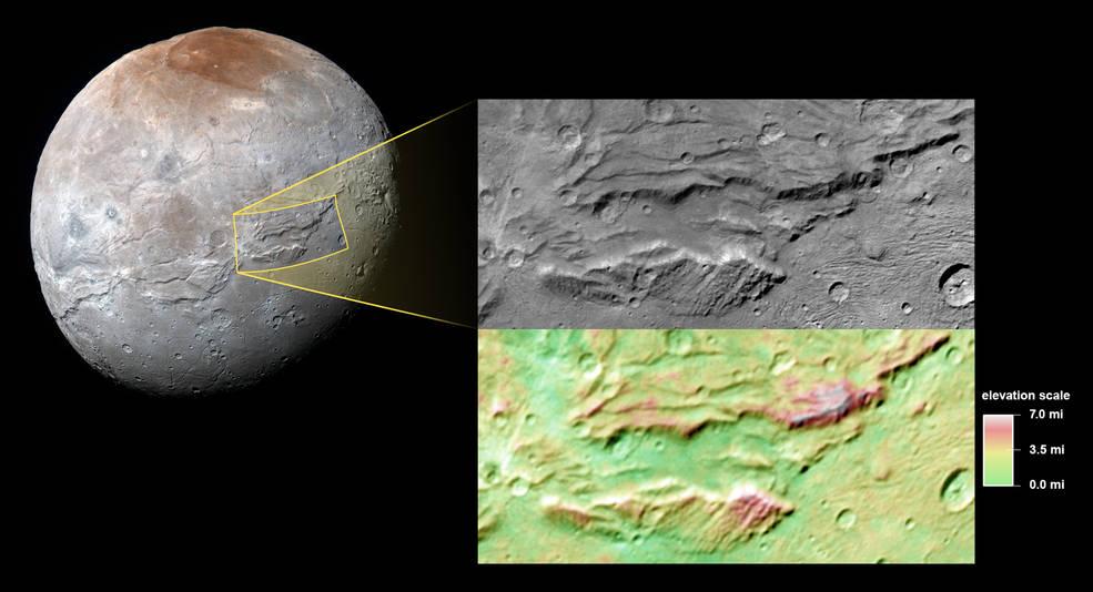 Специалисты NASA заподозрили существование древнего океана у Харона, спутника Плутона - 2