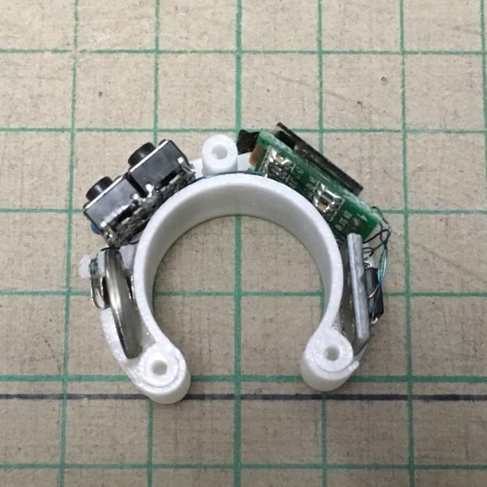Самодельные часы-кольцо на ATtiny85 - 10