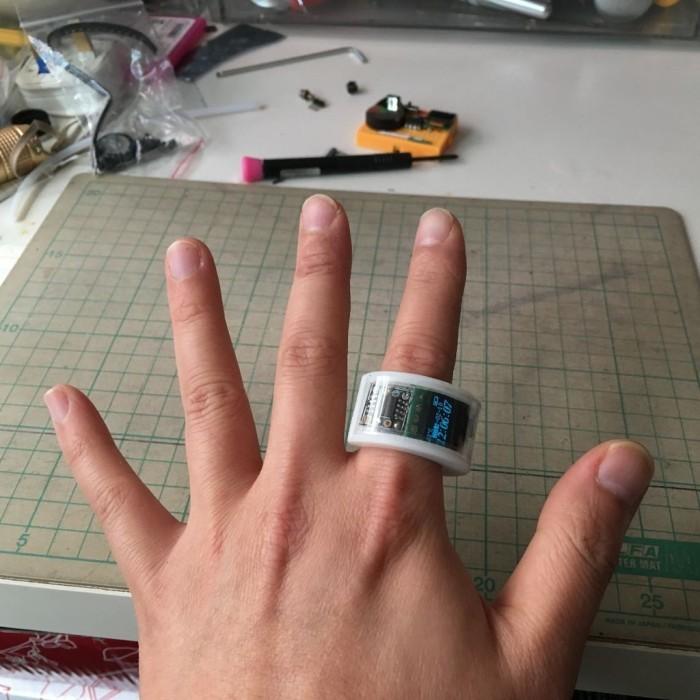 Самодельные часы-кольцо на ATtiny85 - 12