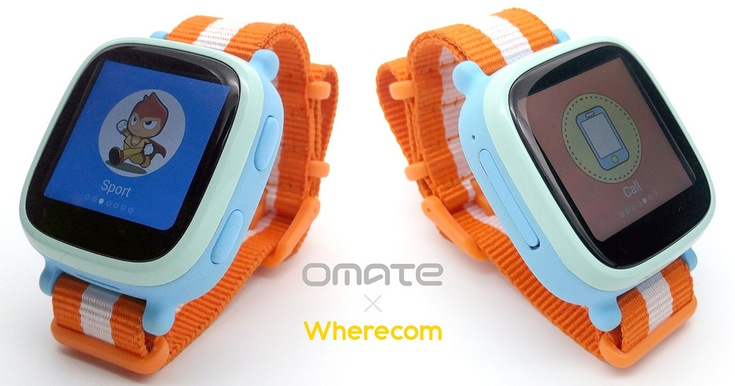 Детские часы Omate Wherecom K3 оснащены модулем GPS