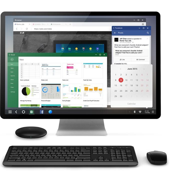 Remix OS, многооконная ОС на Android для ПК, с 1 марта станет еще лучше - 3