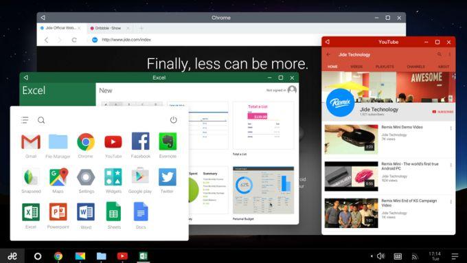 Remix OS, многооконная ОС на Android для ПК, с 1 марта станет еще лучше - 1