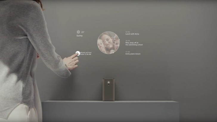 Sony показала устройства Xperia Ear, Xperia Projector, Xperia Eye и Xperia Agent
