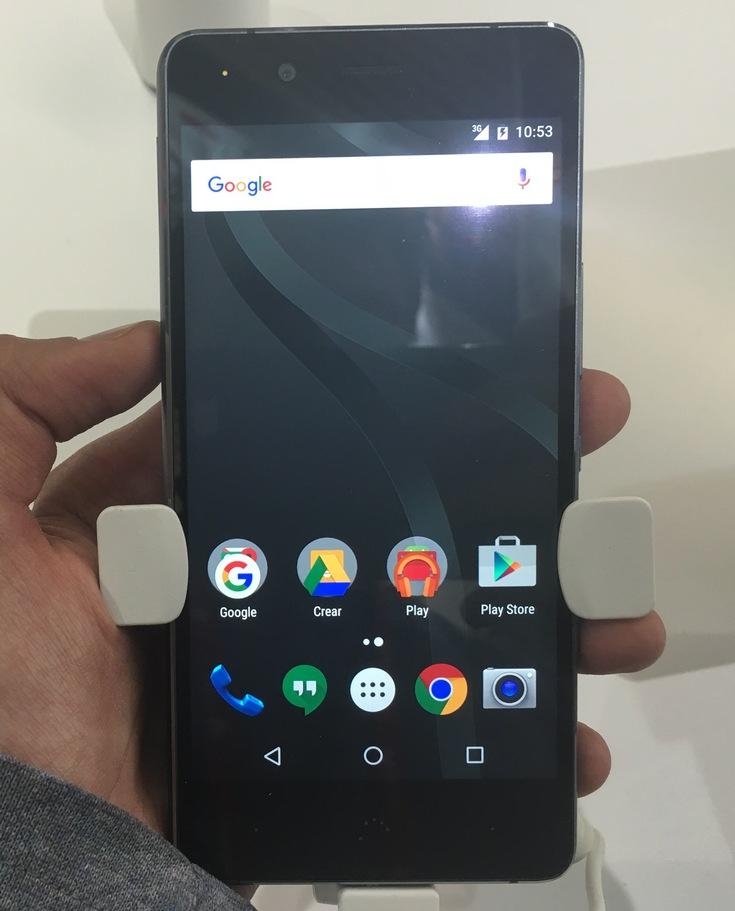 На MWC 2016 представлен смартфон Aquaris X5 Plus