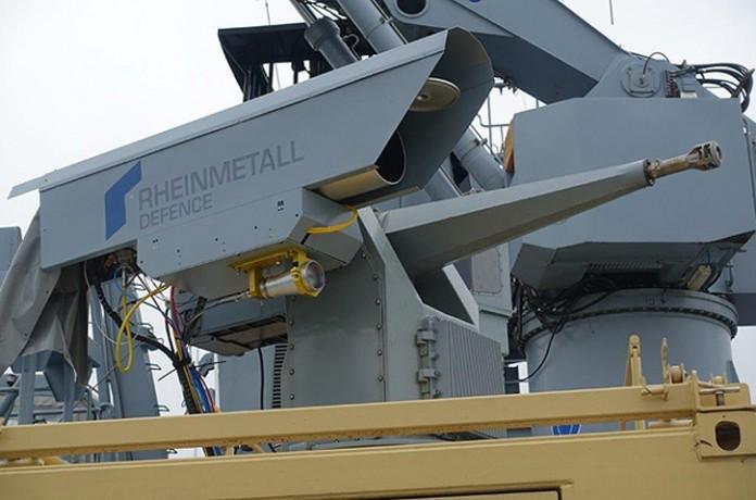 Немецкие военные протестировали 10-киловаттную лазерную установку HEL - 1