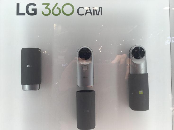 Продажи LG 360 Cam должны начаться весной