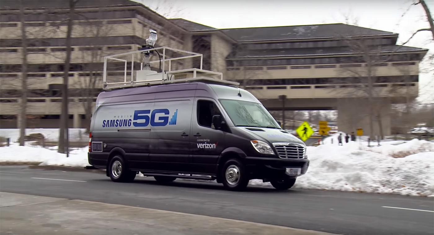 Verizon проводит полевые испытания технологии 5G, планируя коммерческий запуск в 2017 году