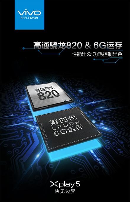Vivo Xplay 5 стал первым смартфоном, в котором подтверждено наличие 6 ГБ оперативной памяти