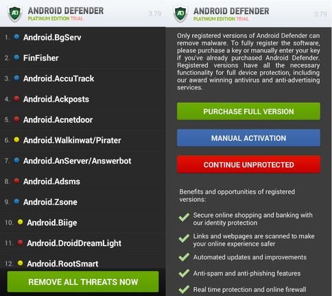 Анатомия вымогателей для Android, часть 1 - 6
