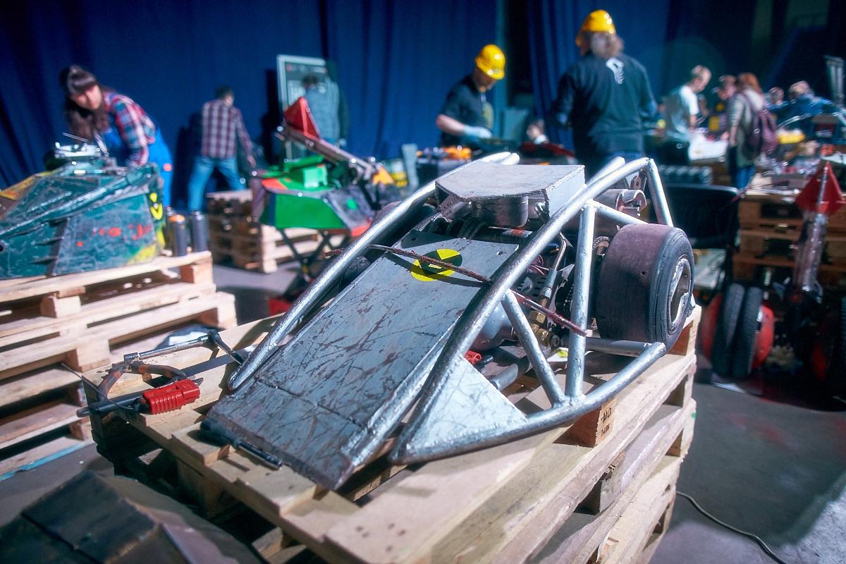 Фотоотчет с открытия боев роботов «Бронебот-2016» - 11
