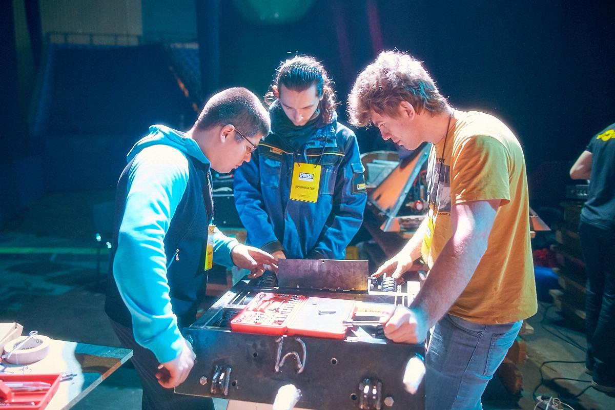 Фотоотчет с открытия боев роботов «Бронебот-2016» - 17